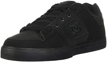 DC Men's Pure Casual Skate Shoe, Black/Pirate Black, 13 D US