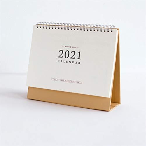 YLSZZTT Calendario de Escritorio 2021 Libro Diario...