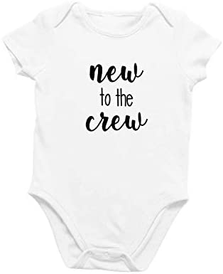Onesie Organic Baby One Piece Short Sleeve Cute Funny Trendy Minimal Bodysuit 0 12 Months New product image