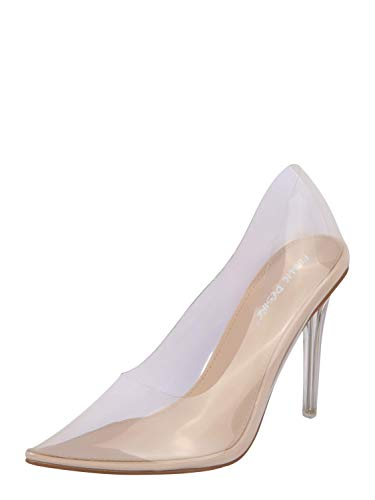 Public Desire Damen Pumps Drank transparent 6 (39)