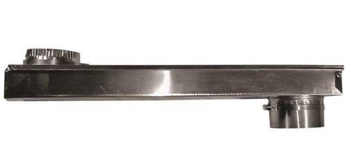 "BUILDER'S BEST, 110172 0-18"" OD Aluminum Zero Periscope Adjustable Dryer Vent Duct"