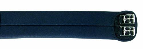 Pfiff 005018 Pfiff Soft Kurzgurt, kurzer Sattelgurt, Schwarz 60cm