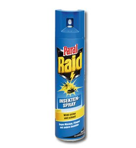 Raid Insektenspray 12er Pack, (12x400ml)