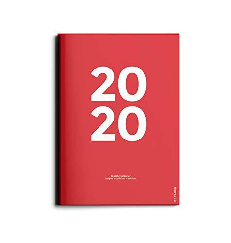 Planificador mes vista 2020 (A4)
