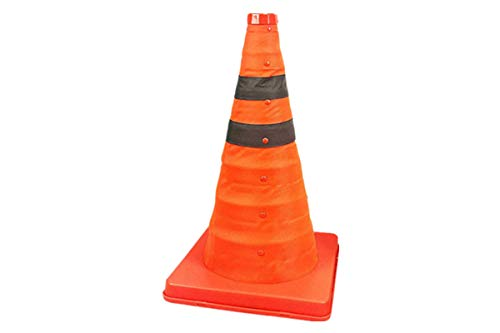 18 inch Collapsible Traffic Cones/Traffic Cone Sign/Multi Purpose Pop up Reflective Safety Cone,Orange