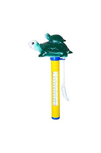 SPIRATO Pool Schwimmbad Thermometer Schildkröte