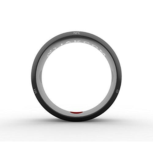 CZX R3 Smart Ring, Elegante Maus 4 professionelles Blutdruckmessgerät 5 Fitness-Tracker, smart Ring, Box,Size 12