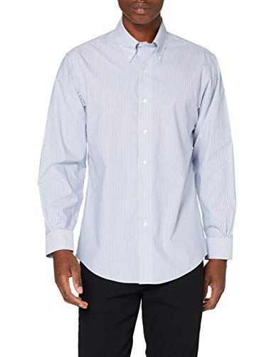 Photo of Brooks Brothers Men's Camicia Formale Button Down Shirt, Navy, 15H 33