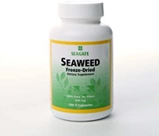 Seagate Products Seaweed Capsules 500 mg 100 Capsules 2-pack