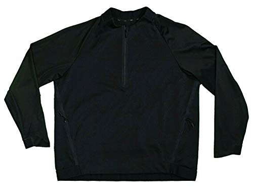 Why Choose Nike Therma Sphere Repel Half Zip Jacket Mens Size Small Black