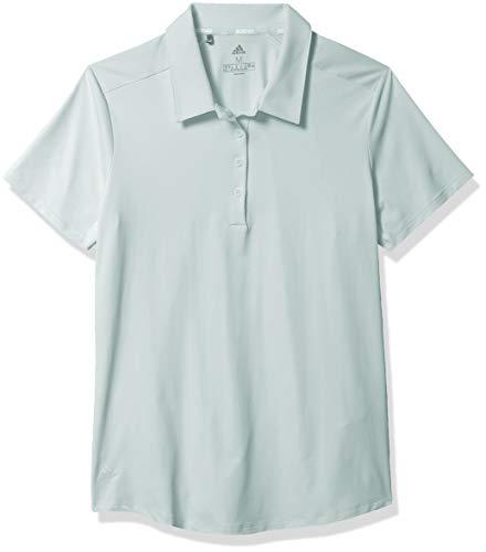 adidas Ultimate365 Short Sleeve Polo, Verde, Large para Mujer
