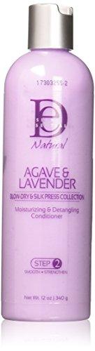 Design Essentials Agave & Lavender Moisturising/Detangling Conditioner, 350ml