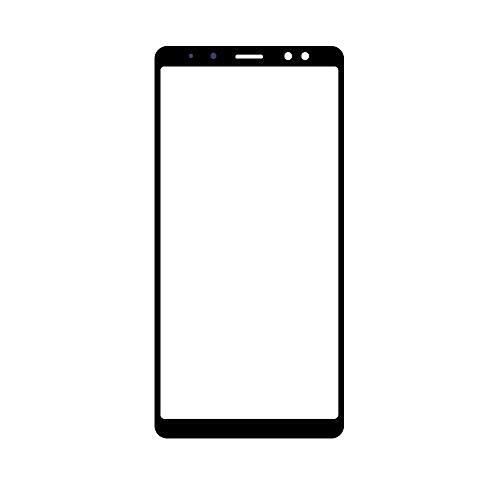 UU FIX Pantalla Cristal Frontal para Samsung Galaxy A8 2018 A730.LCD Touch Screen Frontal Cristal Replacment con Juego de la Herramientas.