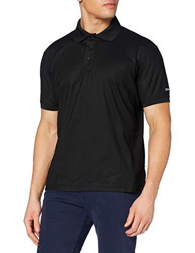 Craft Herren Poloshirt Polo Pique Classic, Black, L