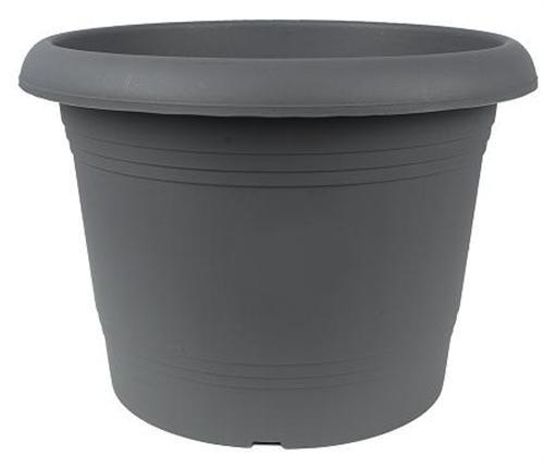 Pot à fleurs en plastique Oliver - Terracotta - 30 cm de diamètre