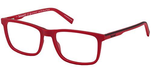 Timberland Gafas de Vista TB1654 Matte Dark Red 54/18/0 hombre
