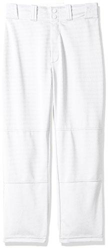 WILSON Klassische Baseball-Hose mit entspannter Passform für Jugendliche, Jungen Mädchen, weiß, Small