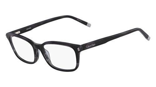 Calvin Klein CK6007, Occhiali Donna, Striped Grey, Standard