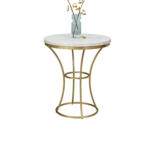 Sängskåp Balkong dekoration bord, marmor finish Storage Table Home Hotel Company reception Bar Table, Storlek: 52 * 52 * 60CM korgbord (Color : B, Size : 52 * 52 * 60CM)