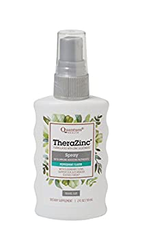 Quantum Health TheraZinc Oral Spray Made with Zinc Gluconate for Immune Support and Throat Relief in a Soothing Spray 2 Oz.