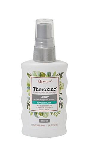 Thera Zinc Spray Peppermint Clove 2 fl.oz