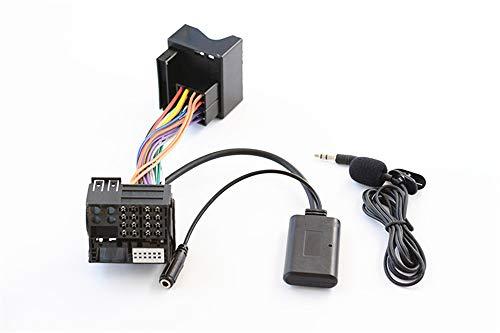 Kabelloser Bluetooth-Freisprechadapter für Volkswagen Jetta Passt Touran Touareg Skoda, CD Stereo AUX Musik Interface für RCD510 310+ 300+ RNS510 315