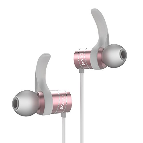 Crave Octane Rose Gold Wireless Earbuds