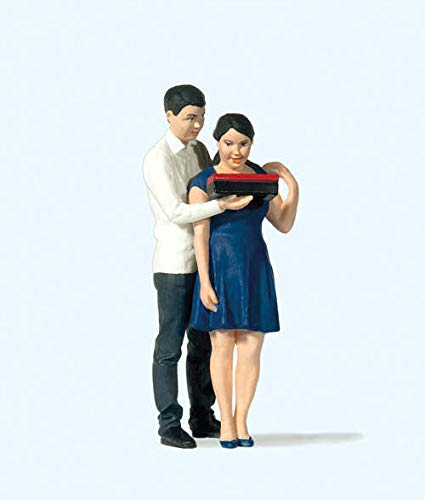 Preiser 44930 Young Couple Figure Set