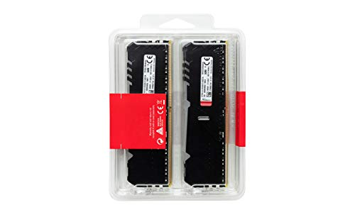 HyperX Fury HX432C16FB3AK4/64 Arbeitsspeicher DIMM DDR4 64GB (Kit 4x16GB) 3200MHz CL16 RGB