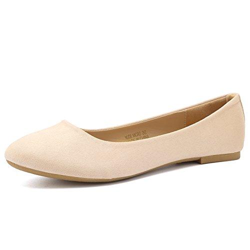 CIOR Women BalletFlats Classy Simple Casual Slip-on Comfort Walking Shoes Size: 7 UK