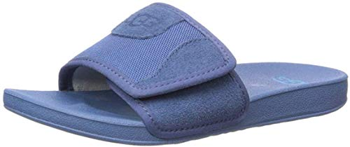 UGG Unisex K Beach Slide Sandal, Ensign Blue, 13 M US Little Kid