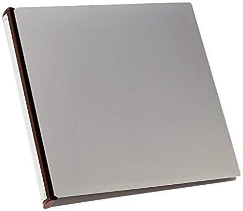 Durable 527701 Carpeta de anillas para CD/DVD álbum 96, lomo negro, 12 bolsillos, 325 x 335 x 40 mm