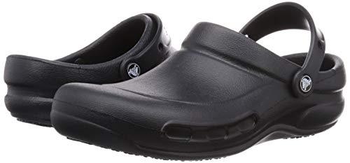 Crocs Bistro Clog, Black, 7 US Men / 9 US Women