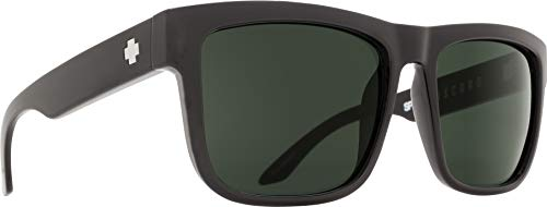 Spy Optic Discord Sunglasses, Black/Happy Gray/Green, 57 mm