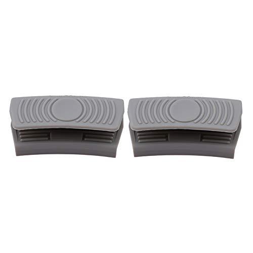 Manopla de silicona con aislamiento térmico para horno, cazuela, soporte para ollas, agarre para horno, clip para olla y accesorios de...