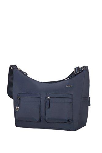Samsonite Move 2.0 Should. Bag M + 2 Pock. Bolso Bandolera, 7.8 litros, Color Negro