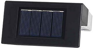 ZHANGLI Solar Deck Light - 6pcs RGB Color-Changing Solar Railing Light Stair Light - Step Deck Yard Patio Illuminate 2 Mod...