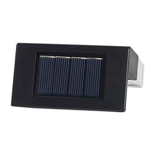 ZHANGLI Solar Deck Light - 6pcs RGB Color-Changing Solar Railing Light Stair Light - Step Deck Yard Patio Illuminate 2 Modes Solar Light Fence Post Garden Decor