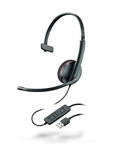Plantronics Mono-USB-Headset 'Blackwire C3210', Schwarz