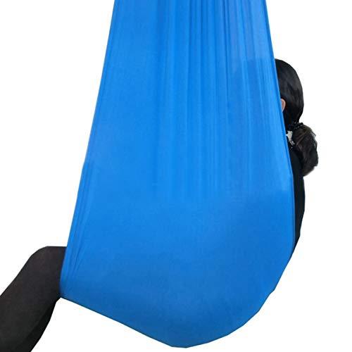 Huangdinghua Oefening gereedschap Tot 80 kg Capaciteit Therapie Swing Autisme Aspergers Sensory Knuffel Hangmat Binnen Outdoor Swing Oefening Gereedschap