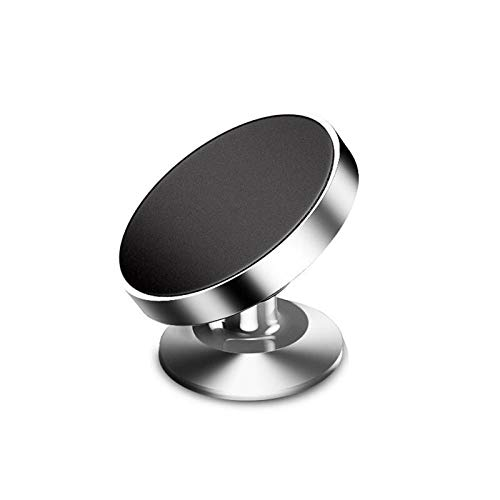 HMXA Accessoires de Voiture Support de téléphone Mobile magnétique for Voiture Produits Auto Phone Support Voiture décoration et Porte-Ornement (Color Name : Suction Cup Silver)