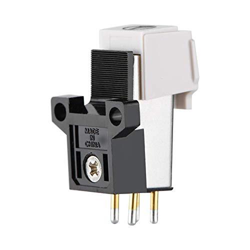 JVSISM - Lápiz capacitivo magnético con aguja de vinilo Lp, función de registro exacta, cartucho de fonógrafo de repuesto para tocadiscos