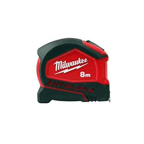 Milwaukee 4932464664 932464664 - Cinta métrica de Bloqueo automático (8 m de Ancho, 25 mm)