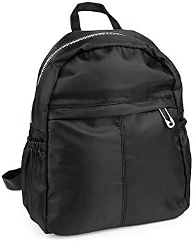 1pc Black Backpack/Rucksack with Pockets, Textile Bags and Backpacks, Fashion Handbags, Purses Backlpacks, Accessories