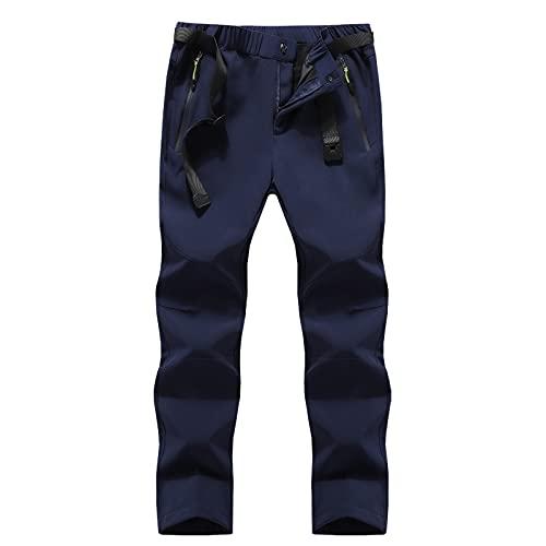 Huntrly Pantalones Cargo para Hombre Otoño e Invierno Pantalones Sueltos Rectos de Gran tamaño Pantalones Casuales Ocio al Aire Libre Senderismo Escalada Pantalones 5XL