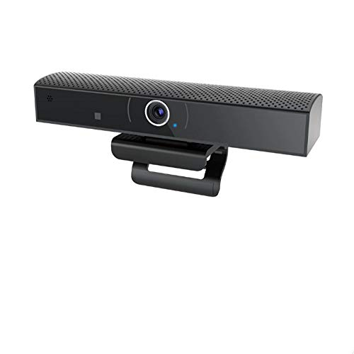 Webcam Camara Web Webcam con 1080P HD Cámara Web TV Box con Cámara Android 6.0 Smart TV Box Ángulo De Visión Amplio Micrófono Incorporado Video Llamada Reco-Enchufe De Estados Unidos