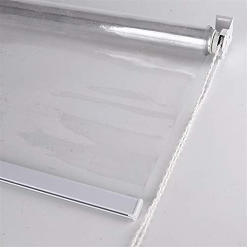YAN FEI Cortina enrollable transparente para ventana de coci