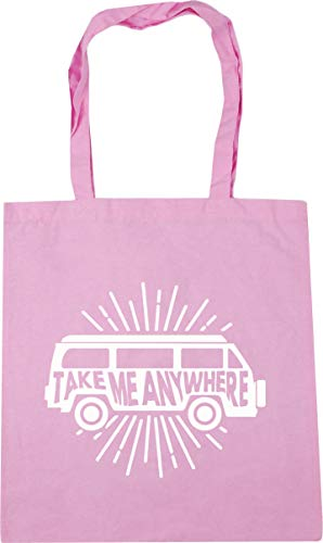 Hippowarehouse Take Me Anywhere Tote Shopping Gym Beach Bag 42cm x38cm, 10 litres