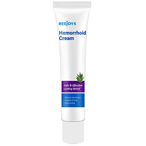 Reejoys Hemorrhoid & Fissure Cream, Hemorrhoid & Fissure Ointment, Hemorrhoid Treatment, Fast Relief Hemorrhoid Cream Healing Formula, Hemorrhoid Symptom Ointment