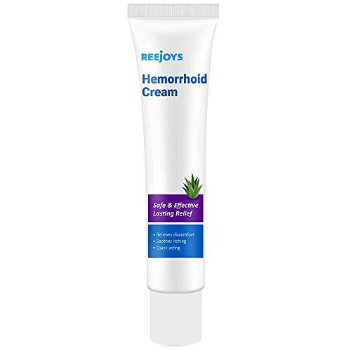 Reejoys Hemorrhoid & Fissure Cream, Hemorrhoid & Fissure Ointment, Hemorrhoid Treatment, Fast Relief Hemorrhoid Cream Healing Formula, Hemorrhoid Symptom Ointment
